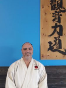 Kyoshi Peter Van Tienen is a 7th dan black belt